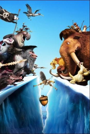 冰河世纪手绘3d图
